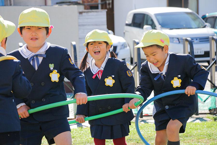 喜多山幼稚園の園庭開放